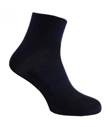 Wrightsock Coolmesh Quarter Zwart