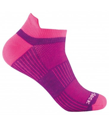 Wrightsock Coolmesh Low Tab Roze