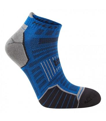 Hilly TwinSkin Socklet Blauw