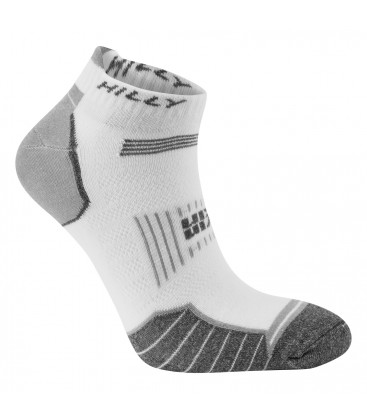Hilly TwinSkin Socklet Wit