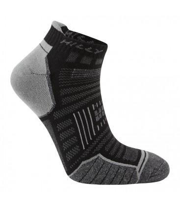Hilly TwinSkin Socklet Zwart
