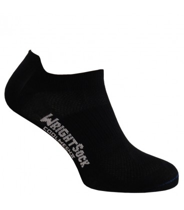 Wrightsock Coolmesh Low Tab Zwart