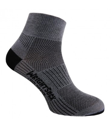 Wrightsock Coolmesh Quarter Grijs